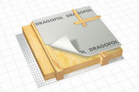 delta dragofol folie de difuzie redusa membrane delta. Black Bedroom Furniture Sets. Home Design Ideas